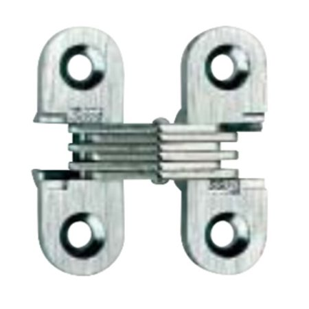 (Soss #103 Invisible Hinge Satin Chrome 103CUS26D)