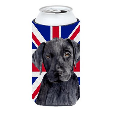 Labrador With English Union Jack British Flag Tall Boy bottle sleeve Hugger - 22 To 24 Oz. - image 1 of 1