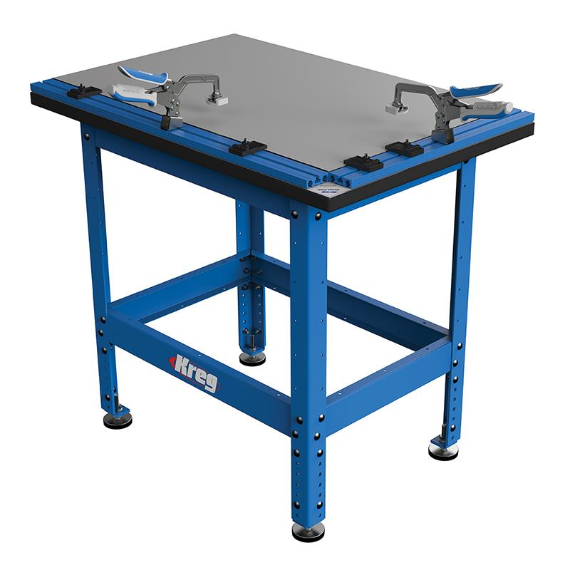 Kreg KCT-COMBO Clamp Table Combo w  Automaxx includes the Steel Std. (casters not... by Kreg Tool Company