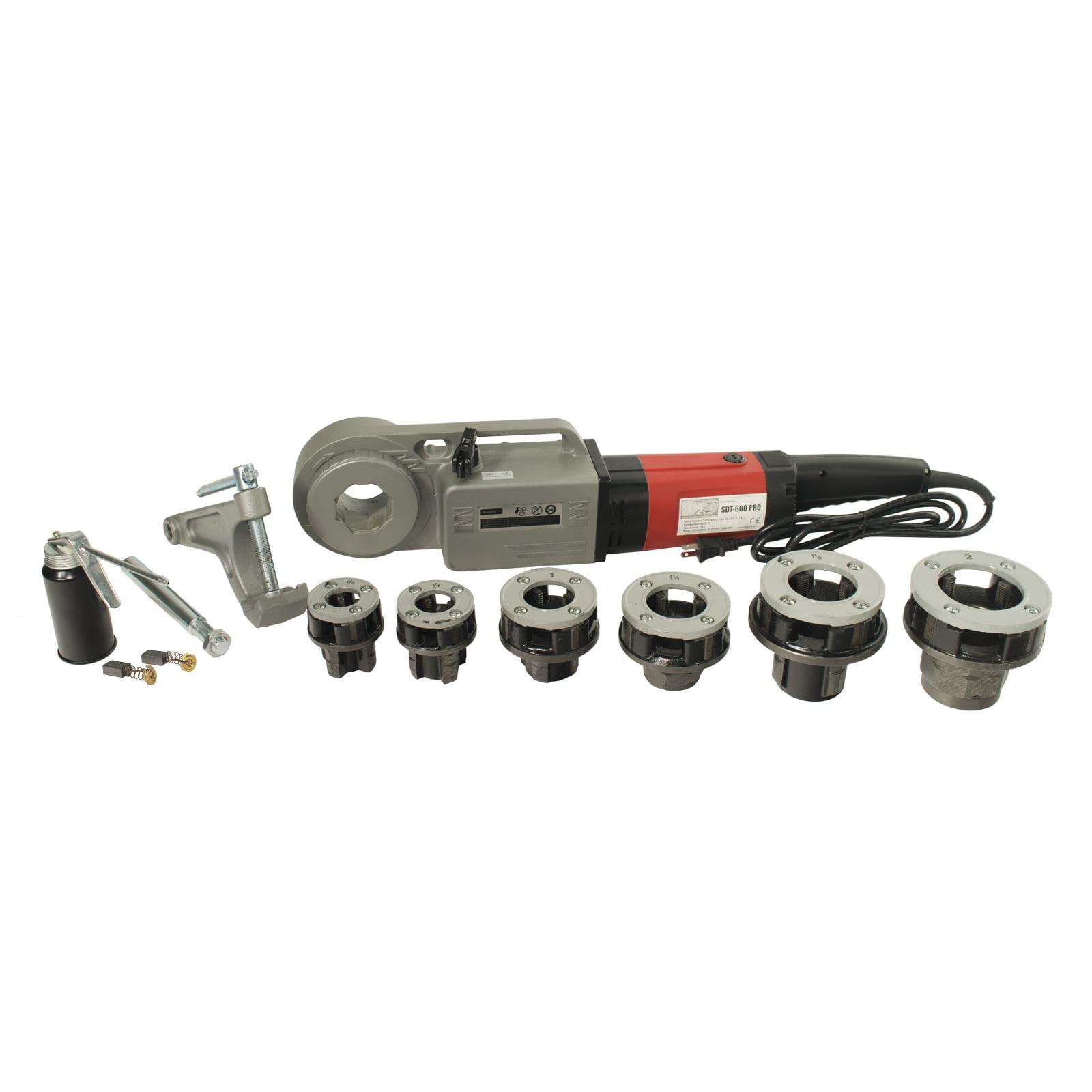 Steel Dragon Tools® 600 Pro 1/2in.-2in. Pipe Threader 16013 fits RIDGID® 11-R Die Heads 12-R Dies