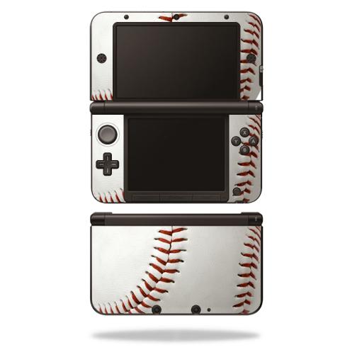 MightySkins Protective Vinyl Skin Decal Cover for Nintendo 3DS XL Original (2012-2014 Models) Sticker Wrap Skins Baseball