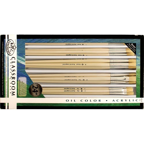 Royal & Langnickel Classroom Value Pack Bristle Brush Collection