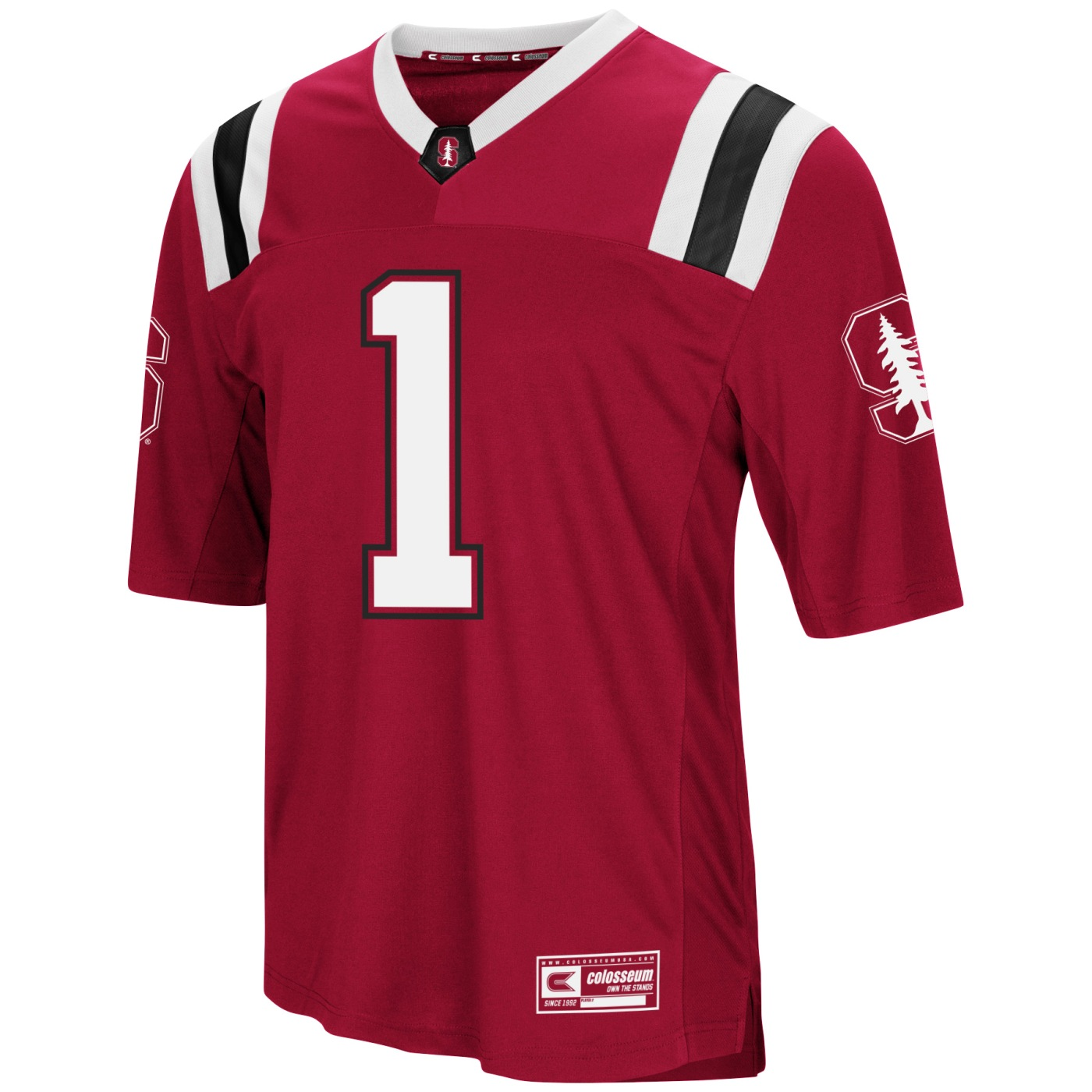 """Stanford Cardinal NCAA """"Double Reverse Play """" Men's Football Jersey"""