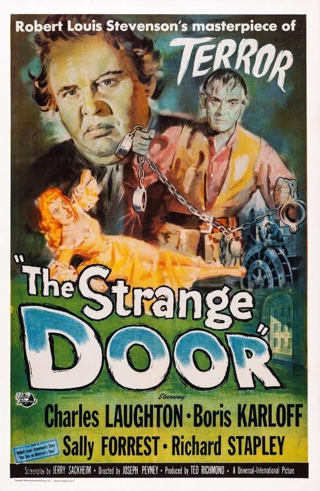 The Strange Door Us Poster Art Charles Laughton Boris Karloff Sally Forrest  1951 Movie Poster Masterprint - Item  VAREVCMMDSTDOEC006H - Walmartcom -  Walmartcom