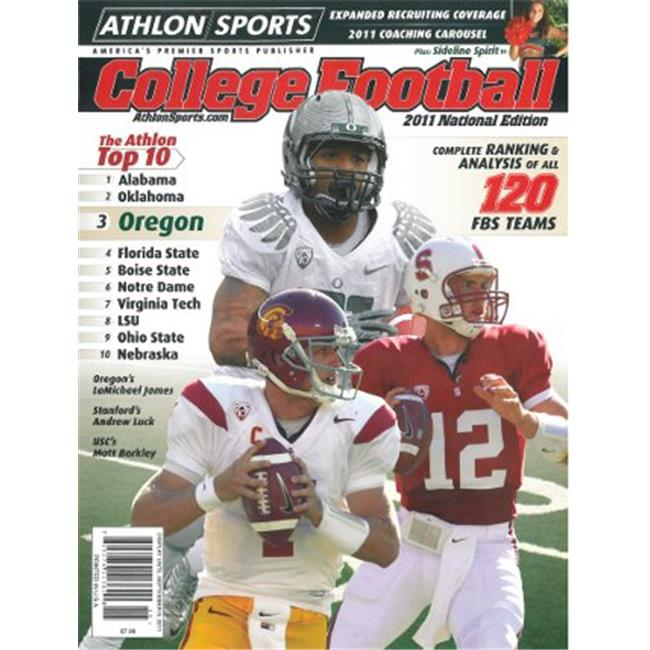Athlon CTBL-l12685 Andrew Luck Unsigned Standford Cardinal Sports 2011 College Football National Preview Magazine