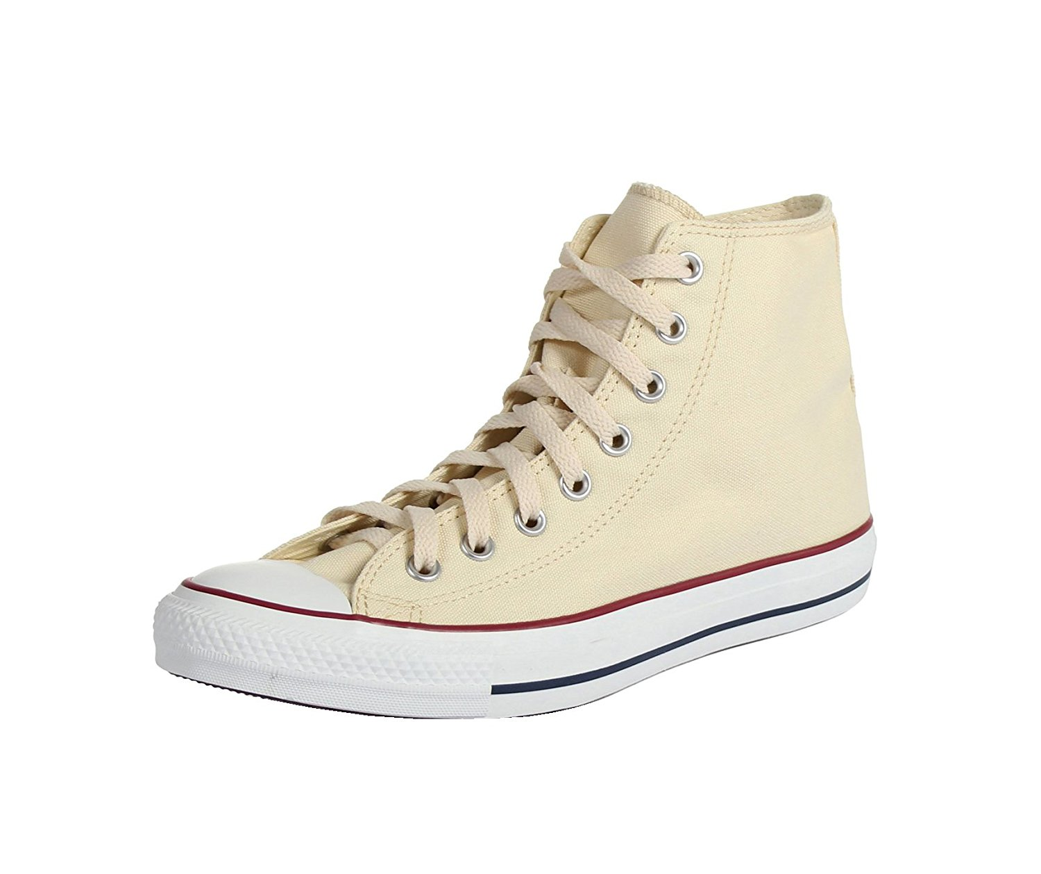 Converse All Star Hi Patch Logo White Canvas by Converse