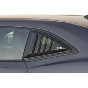 GT STYLING GT4172S Window Louver, Smoke