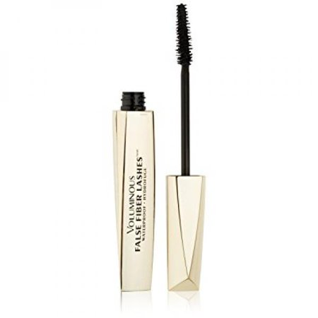 L'Oreal Paris Voluminous False Fiber Lashes Waterpoof Mascara ,285  Blackest Black,  0.35 Fluid