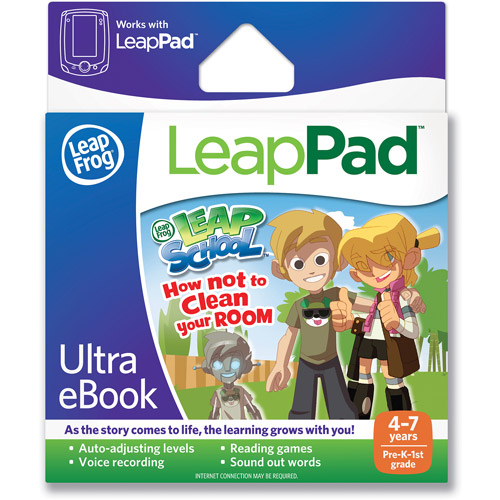 LeapFrog LeapPad Ultra eBook: LeapSchool How Not to Clean Your Room