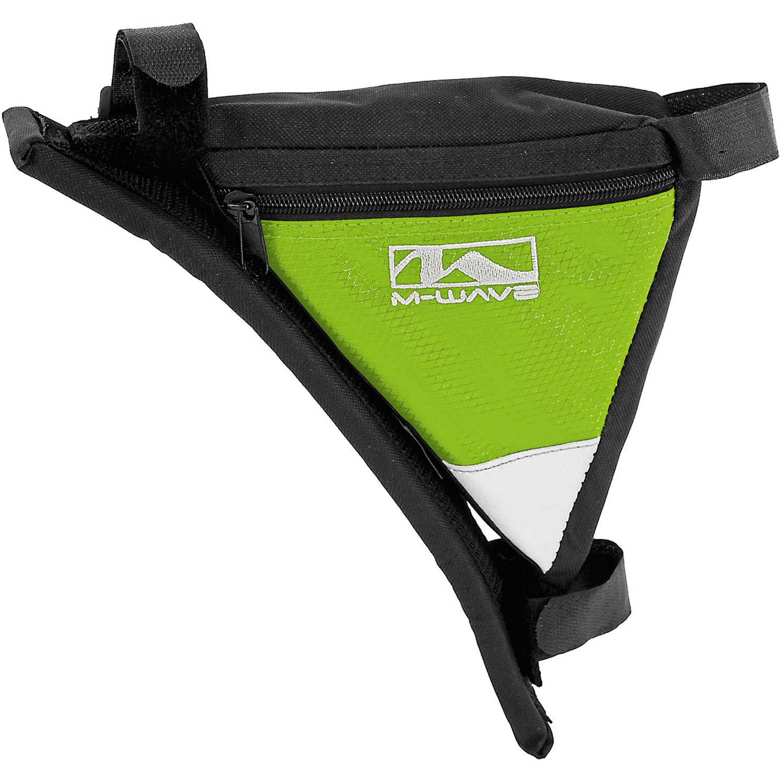 Ventura Rotterdam Shoulder Frame Bicycle Bag, Black/Green