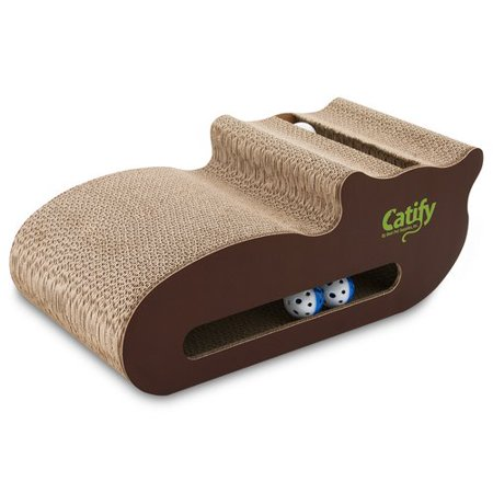 Best Pet Supplies Cat Shaped Scratching Board with