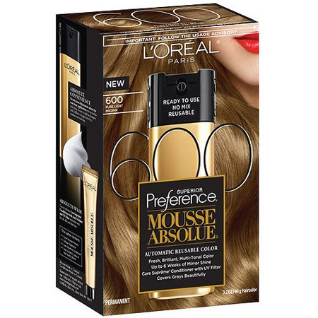 L'Oreal Paris Superior Preference Mousse Absolue Hair Color ...