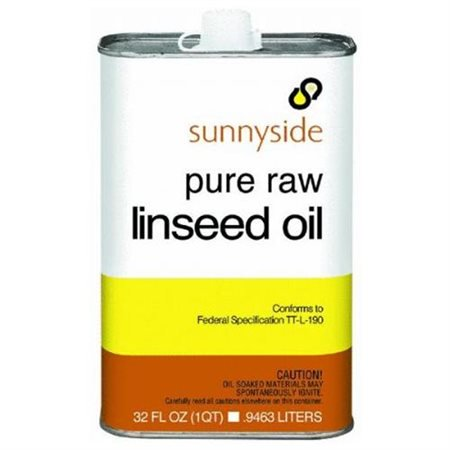 - Raw Linseed Oil