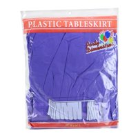 Party Dimensions 52012 Purple - 29 in. x 14' Table Skirt - 36 Per Case