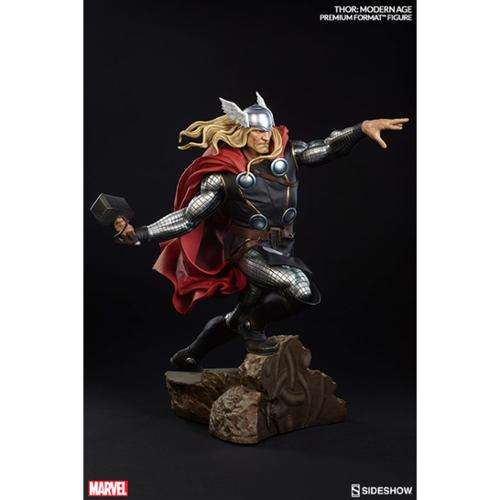 "Marvel Thor Modern Age Premium Format 20"" Figure Sideshow Collectibles"