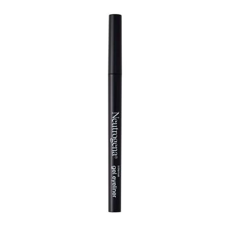 Neutrogena Intense Gel Eyeliner, Smudge- & Water-Resistant, Jet Black, 0.004 oz