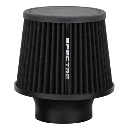 Spectre Performance Magna Clamp (Spectre Performance 9131 Universal Clamp-On Air Filter: Round Tapered; 3 in (76 mm) Flange ID; 6.5 in (165 mm) Height; 6 in (152 mm) Base; 4.75 in (121 mm))