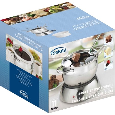 Trudeau Maison Alto 3-In-1 Electric Fondue