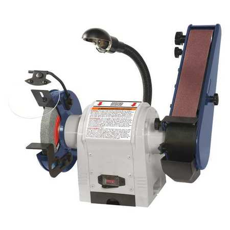 Dayton 49H006 120V Combination Belt and Bench Grinder