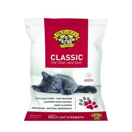 Elseys Cat Attract Litter (Dr. Elsey's Precious Cat Classic Cat Litter, 40-lb )