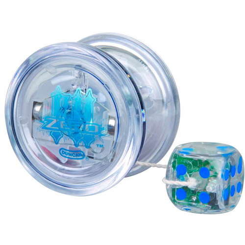 Duncan Freehand Zero Yo-Yo with Pulse Technology, Clear