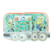 """Despicable Me Minions 16ct 8 3/4"""" Plates Goggles Party Favor Combo W/Stickers"""