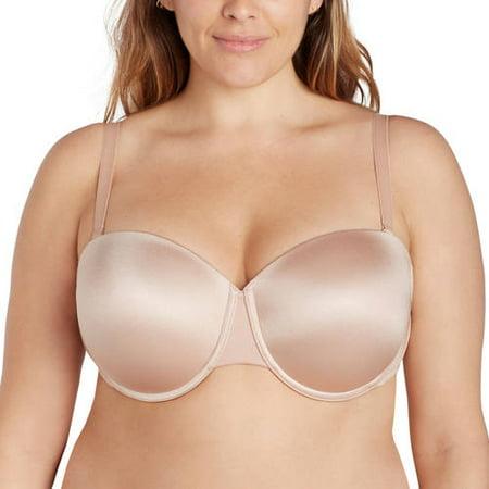 f4cc2295e0 Dreamfit - Womens Plus Size Convertible Strapless Bra