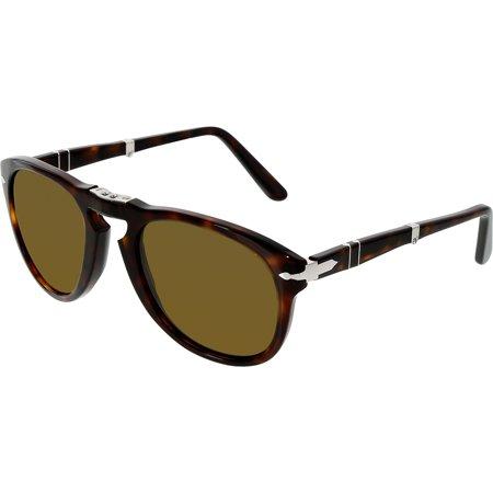 PERSOL Sunglasses PO 714 24/57 Havana 52MM