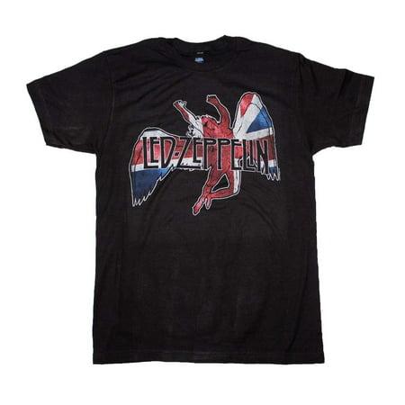 Led Zeppelin Icarus Flag T-Shirt