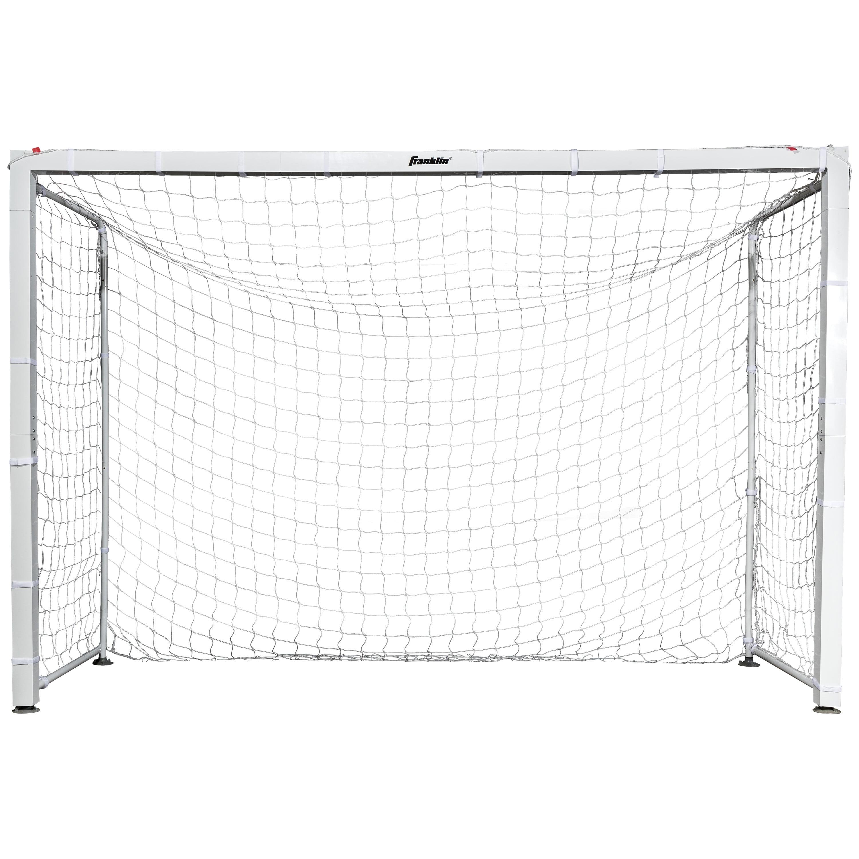 "Franklin Sports Official Size Aluminum Futsal Goal - 9'10"" x 6'7"""