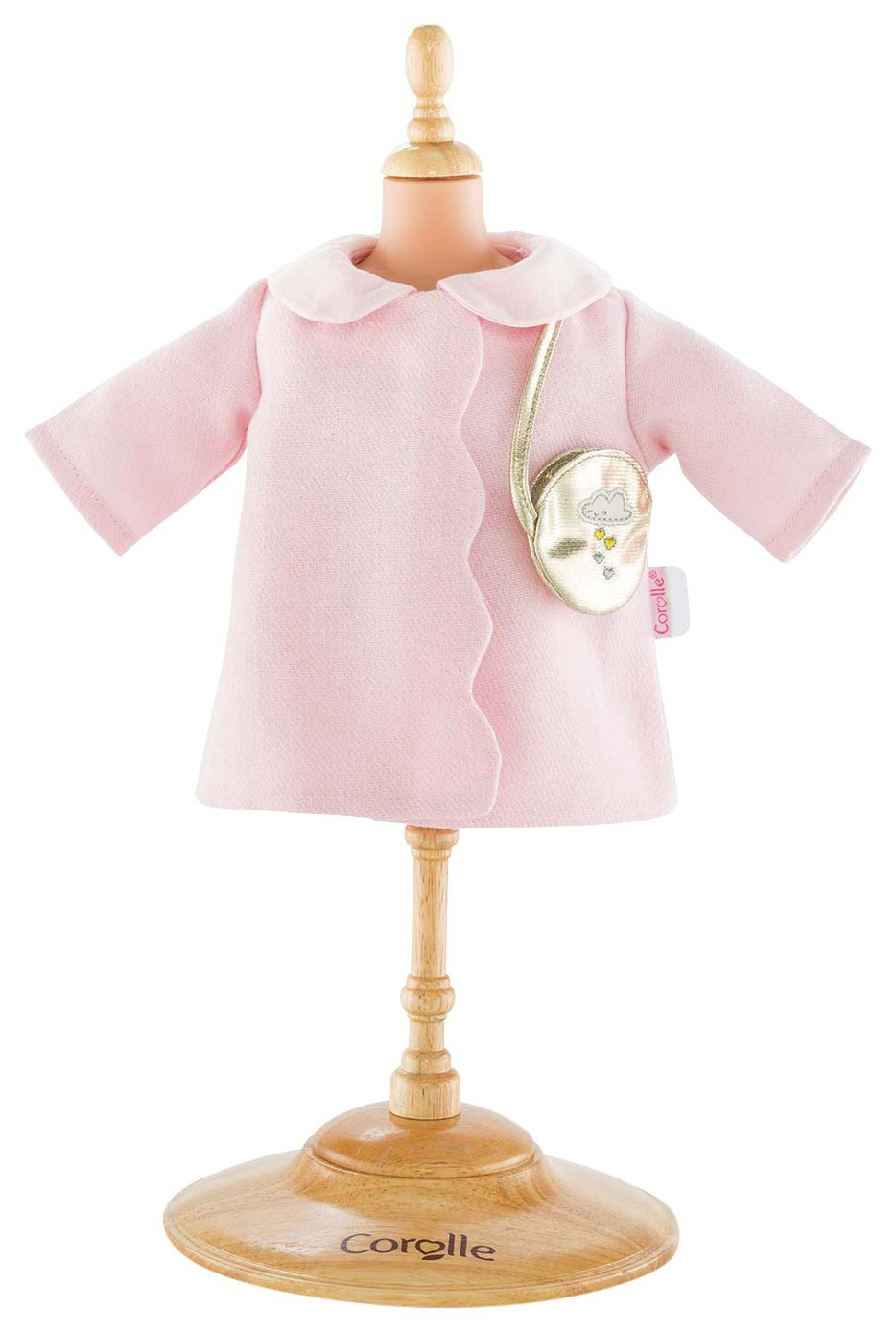 """14"""" Coat Sparkling Clouds Fashion Set, Style your doll with this stylish coat By Corolle From USA by"""