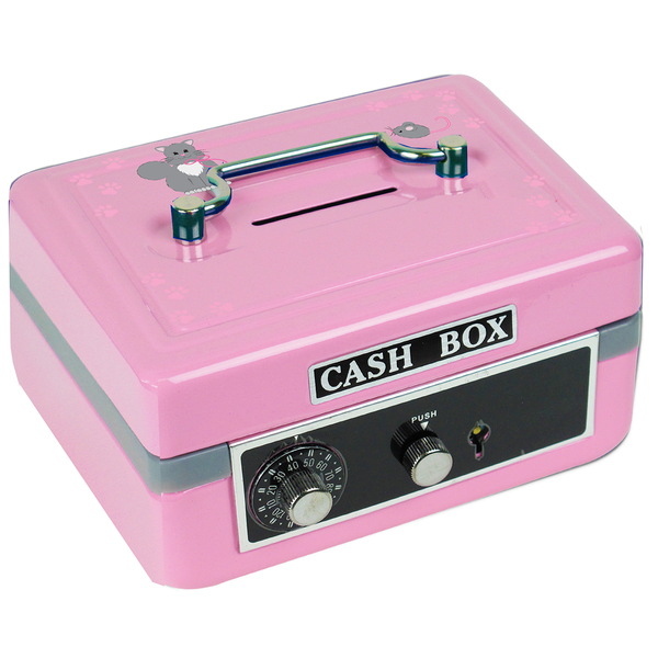 Personalized Kitty Cat Cash Box