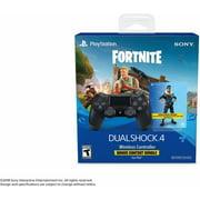 Sony DualShock 4 Wireless Controller: Black - Fortnite Bonus ContentBundle for PlayStation 4