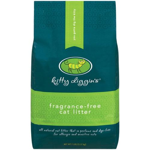 Kitty Diggin's Fragrance Free Cat Litter, 7 lb