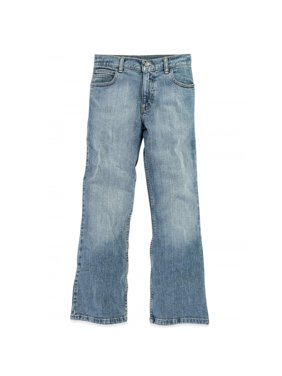 Wrangler Boys Classic Boot Fit Jeans Sizes 4-16 & Husky