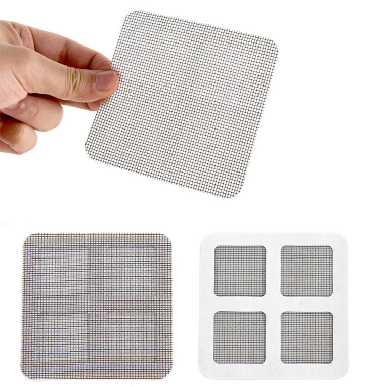 Anti-mosquito Mesh Sticky Wires Patches Summer Window Mosquito Netting Patch Repairing Broken Holes on Screen Window... by
