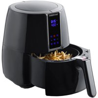 Farberware 3.2-Quart Digital Oil-Less Fryer (Black / White)