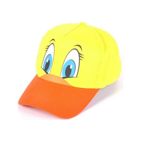 Adults Kids Adjustable Duck Animal Zoo Baseball Cap Hat Costume Accessory
