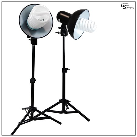 Loadstone Studio Table Top Photography Studio 400W Mini Continuous lighting Light Kit, WMLS1500