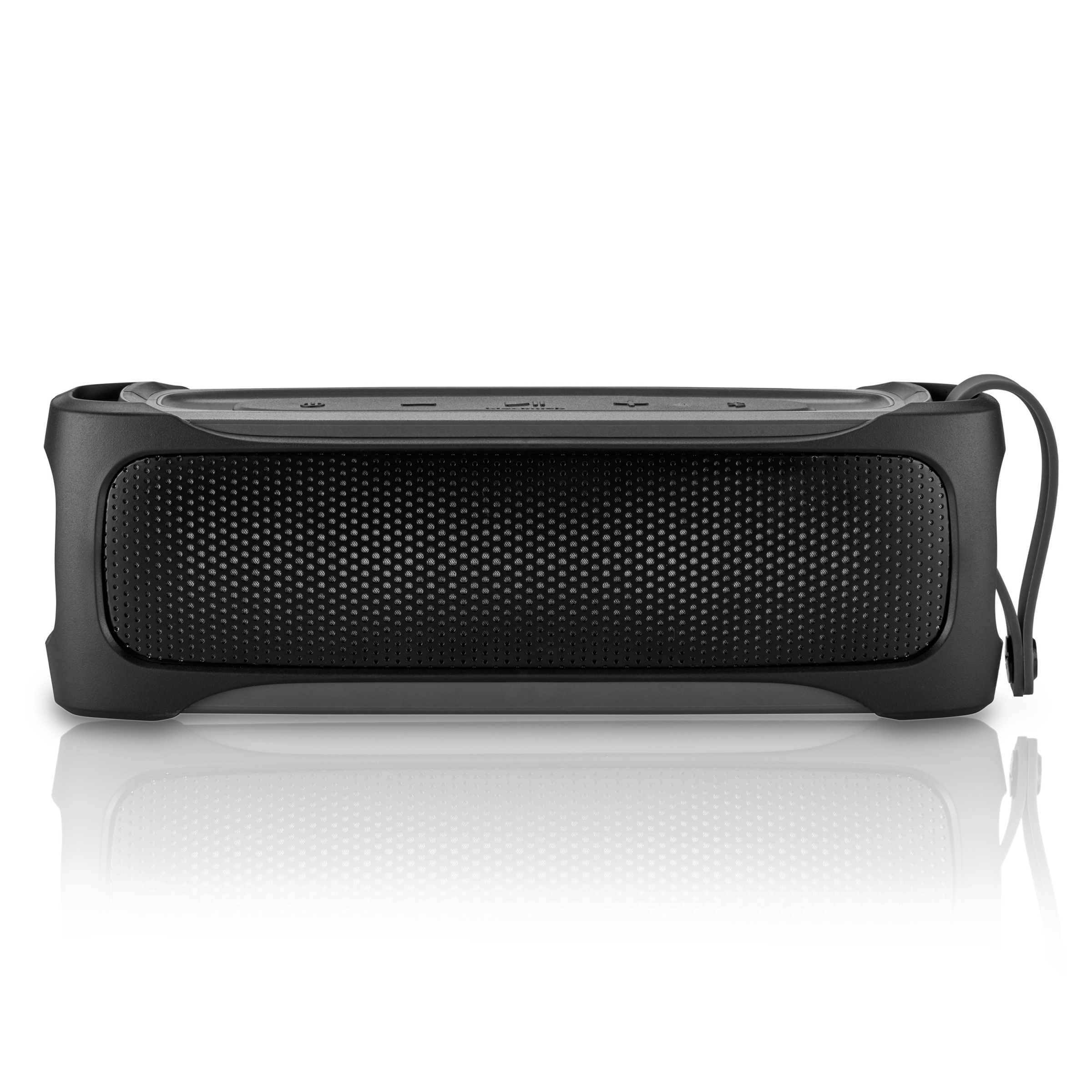 Blackweb Rugged Stereo Bluetooth Speaker, IPX5 Splash Proof Rating