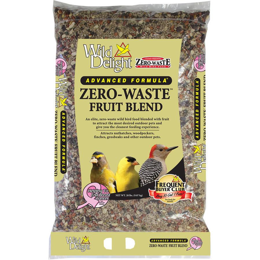 Wild Delight 360200 20 Lb Zero-Waste Fruit Blend Bird Feed