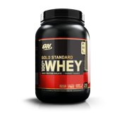 Optimum Nutrition Gold Standard 100% Whey Protein Powder, Double Rich Chocolate, 24g Protein, 2 Lb