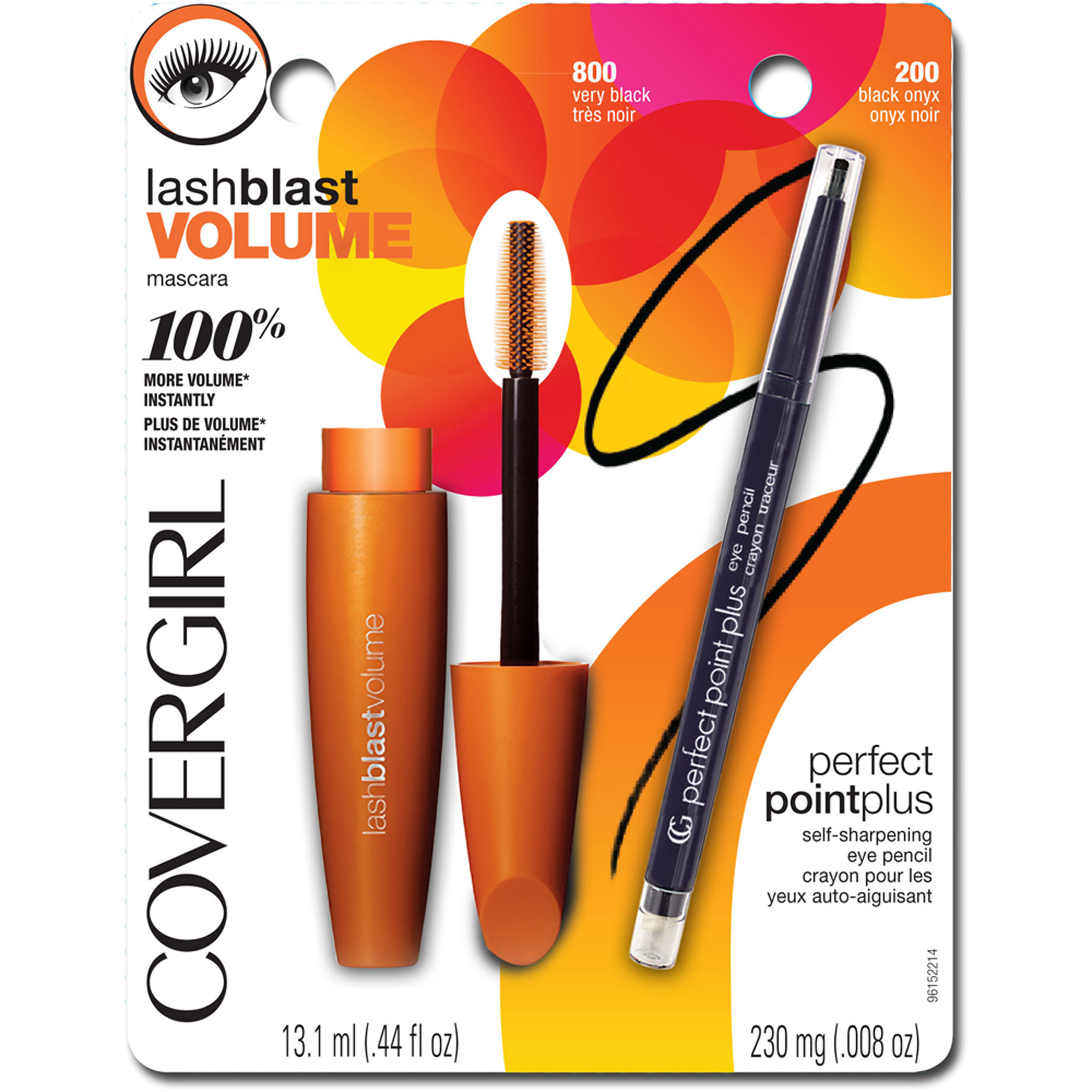 COVERGIRL LashBlast Volume Mascara and Perfect Point Plus Pencil Value Pack