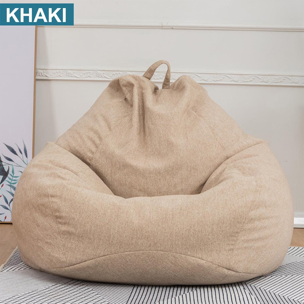 Meigar 39.4x47.2'' Extra Large Bean Bag Chair Sofa Cover ...