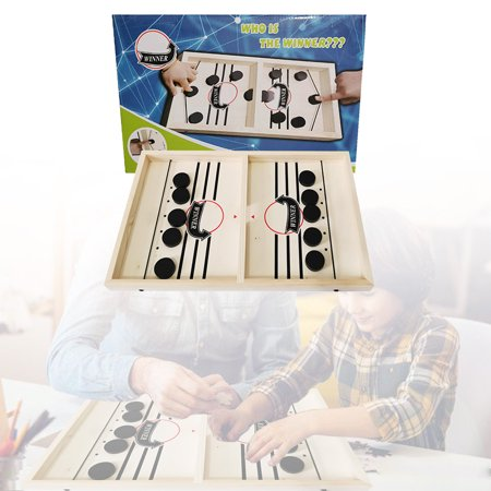 LeKing Hockey Board Game Set Puzzle Chess Set Parent-child Interactive Game Party Supplies - image 1 of 7