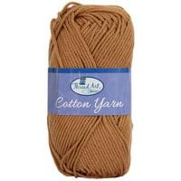 Threadart 100% Pure Cotton Crochet Yarn | Lavender | 50 gram Skeins | Worsted Medium #4 Yarn | 85 yds per Skein - 30 Colors Available
