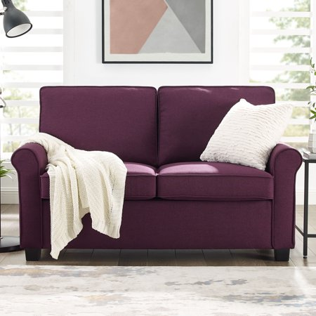 Mainstays Traditional Loveseat Sleeper With Memory Foam