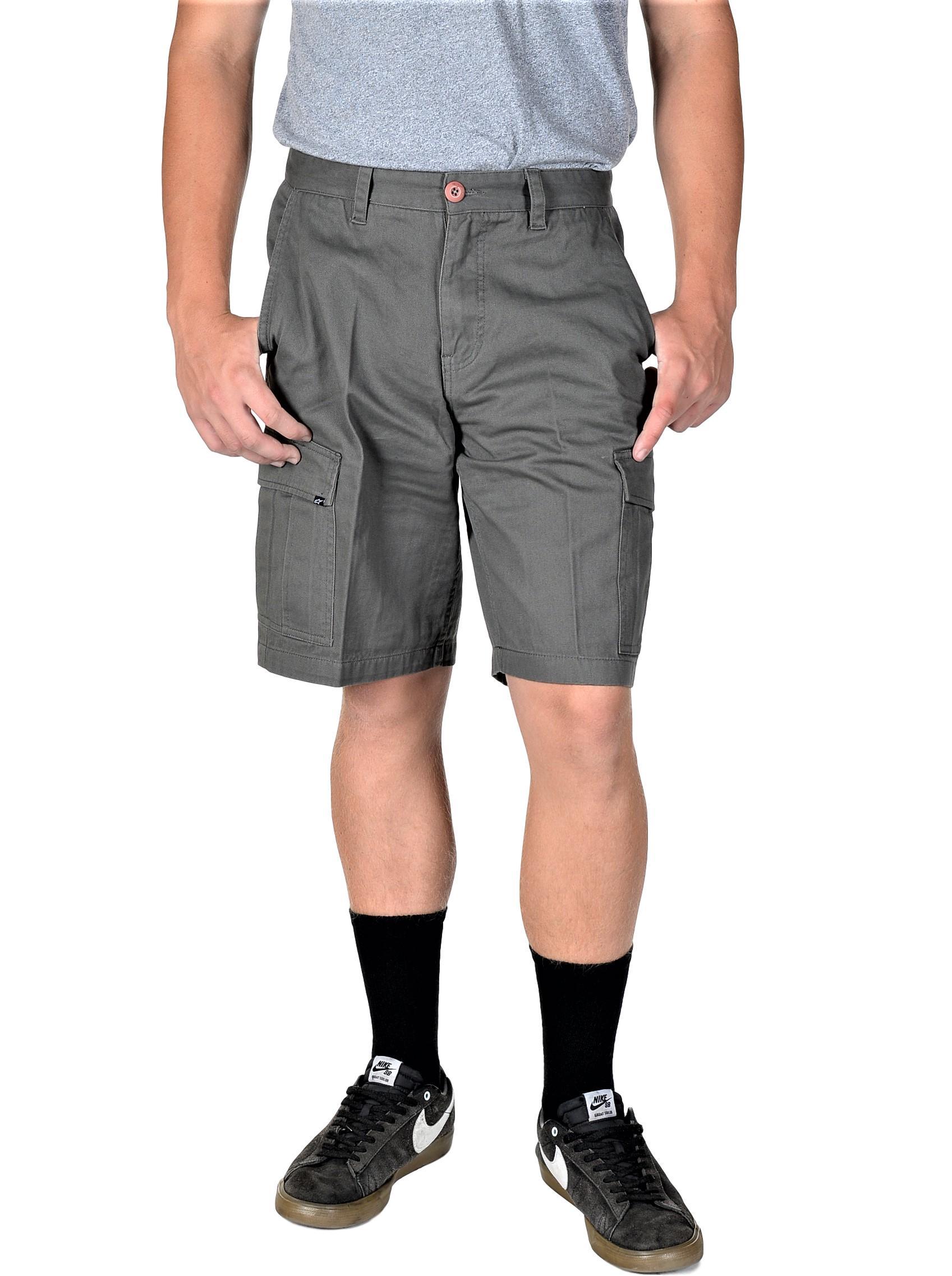 Charcoal Alpinestars Delta Cargo Shorts 32