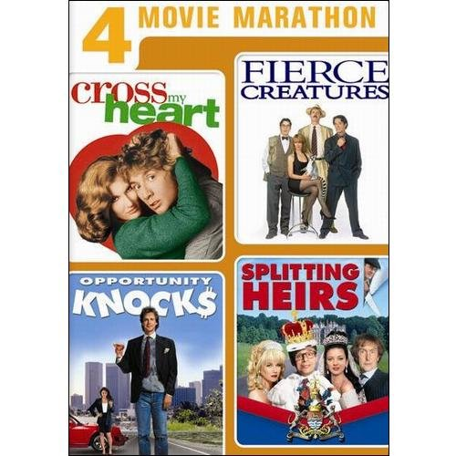 4 Movie Marathon: Comedy Favorites Collection - Cross My Heart / Fierce Creatures / Opportunity Knocks / Splitting Heirs