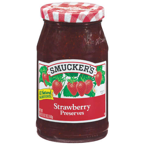Smucker's Strawberry Preserves, 18 oz